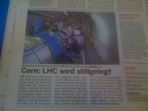 LHC wird stillgelegt...